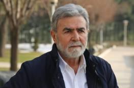 النخالة يدعو القوى لاجتماع عاجل والتوافق على برنامج وطني لمجابهة الاحتلال