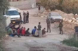 الاحتلال يعتقل 129 عاملًا دخلوا بدون تصاريح إلى الخط الأخضر