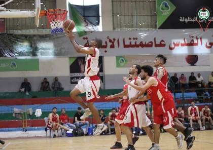 كرة السلة: مباراة فاصلة بين بطلي غزة والضفة