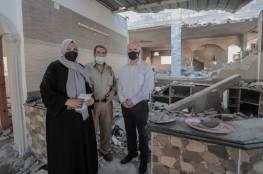 """القائم بأعمال مدير """"أونروا"""" بغزة: دمار التصعيد الأخير هائل وواسع النطاق"""