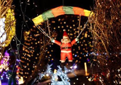 مؤسسة الرئيس بوتين للعلوم والثقافة تحتفل باضاءة شجرة الميلاد