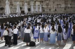 """تقديرات إسرائيليّة بالمصادقة على """"مسيرة الأعلام"""" الاستفزازية"""