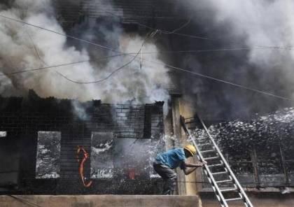 قتلى وإصابات إثر انفجار مصنع للألعاب النارية في الهند
