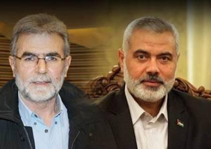 النخالة يبعث رسالة لقيادة حماس.. إليك تفاصيلها