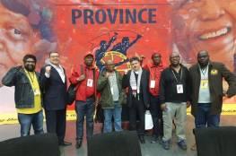 سفارتنا بجنوب افريقيا تشارك بالمؤتمرات الانتخابية لاتحاد نقابات العمال