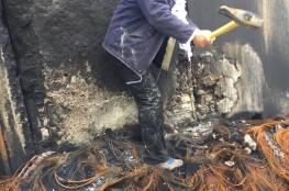 إصابات بالاختناق عقب قمع الاحتلال مسيرة نعلين