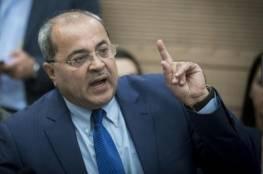 الطيبي يطلب من نتنياهو تقديم اعتذار لعائلة أبو القيعان في النقب