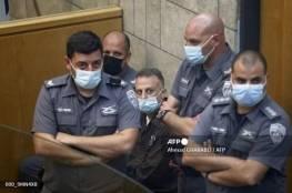 تمديد اعتقالهم لتسعة ايام ..الاحتلال يتهم الأسرى الأربعة الذين أعيد اعتقالهم بالتخطيط لعملية إرهابية