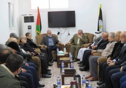 """بالصور... اجتماع قيادي لحركتي """"حماس"""" و الجهاد الاسلامي في غزة"""