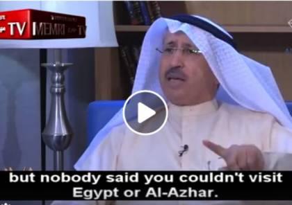 وزير كويتي سابق: المستوطنون متقدمون ويطورون فلسطين ويهاجم أبو عمار