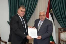 تفاصيل اجتماع الرئيس عباس مع الأمين العام لاتحاد نقابات عمال فلسطين
