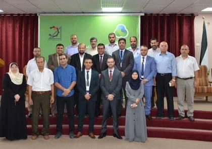 جوال ونقابة المهندسين الفلسطينيين يفتتحان قاعة المهندسين الكبرى