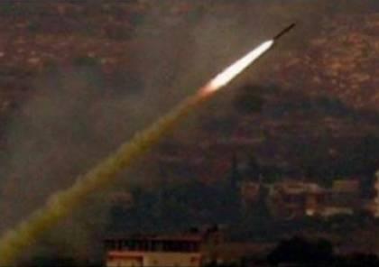 اطلاق صواريخ على الجولان المحتل و اسرائيل تقصف دمشق