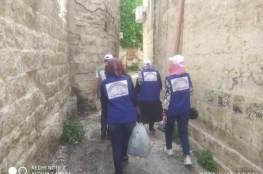 توزيع سلال خضار على 50 عائلة متضررة من كورونا بنابلس
