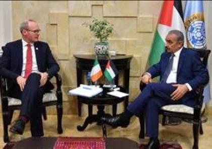اشتيه يدعو لتحالف دولي لمواجهة الإجراءات الإسرائيلية والأميركية