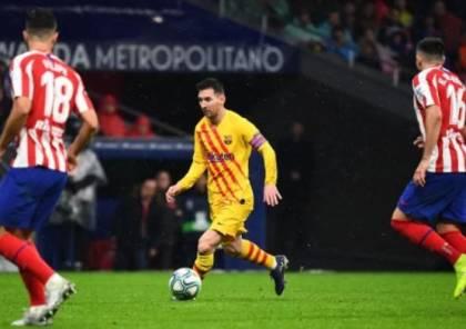 فيديو.. ميسي يلدغ أتلتيكو مدريد ويُعيد برشلونة إلى الصدارة