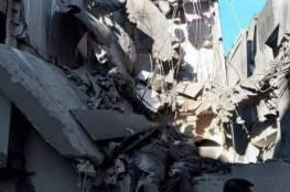 شاهد..إصابات في انفجار عرضي هز بلدة بيت حانون شمال قطاع غزة