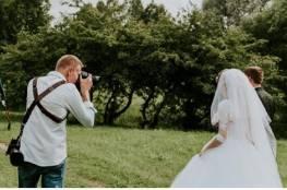 عروس في منتهى الغرابة تطلب من المصور طلبا عجيبا