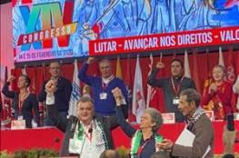 """اتحاد نقابات عمال البرتغال يدين """"صفقة القرن"""" ويطالب بانهاء الاحتلال الاسرائيلي"""