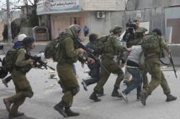 الاحتلال يعتقل 7 مواطنين من رام الله والبيرة