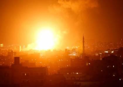 طائرات الاحتلال الاسرائيلي تشن سلسلة غارات على قطاع غزة