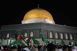 التصعيد مصبوغ باللون الأخضر .. قناة عبرية : الضيف هو الخط الرابط بين غزة والقدس