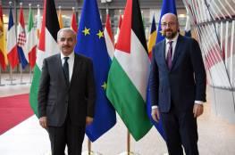 اشتية يطالب الاتحاد الأوروبي بوضع ثقله الاقتصادي خلف قوته السياسية لجعل الاحتلال مكلفا