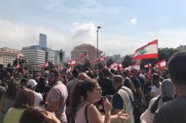 لبنان: 35 إصابة خلال مواجهات بين المتظاهرين ومناصري حزب الله وسط بيروت