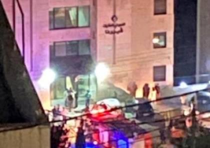 6 إصابات إثر حريق نشب بعد تسرب غاز بشقة سكنية في رام الله