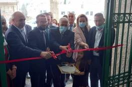 """""""التربية"""" تفتتح مركز بيت لحم التعلمي الإبداعي بدعم إيطالي"""