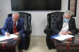 توقيع مذكرة تفاهم بين سلطة المياه وقطر الخيرية لتنفيذ مشاريع مائية بغزة