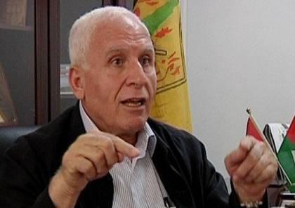 الاحمد: السلطة قد تنهار وإسرائيل قد تعيد احتلالنا وموقفنا من المصالحة كالتالي..