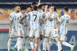 الأرجنتين تُفرط في الفوز على كولومبيا في تصفيات كأس العالم