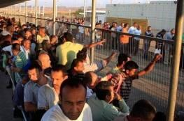 مصدر اسرائيلي: آلاف العمال من غزة الى إسرائيل سيساعد على تخفيف التوتر والجيش يؤيد ذلك
