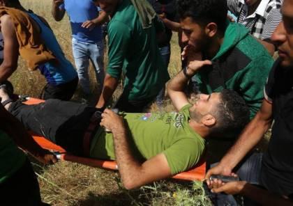 صور ..مواجهات غزة :أكثر من 30 جريحًا اثنان بحالة الخطر و ثالث بحالة بتر