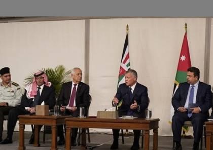 الملك يستقبل ممثلي اللاجئين الفلسطينيين في الأردن