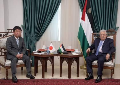 الرئيس عباس: يجب العودة لعملية سياسية تنهي الاحتلال للأراضي الفلسطينية