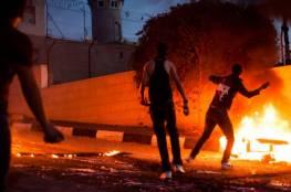 مواجهات مع شرطة الاحتلال في العيسوية