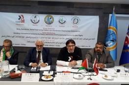 النقابات التركية موحدة في دعمها للكفاح النقابي والوطني الفلسطيني