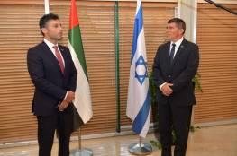 أشكنازي يستقبل السفير الإماراتي المعتمد لدى إسرائيل