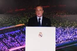 بيريز : ريال مدريد لن يلعب في برنابيو عندما يعود الدوري الإسباني