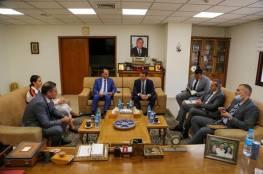 مجموعة بنك فلسطين تستقبل ممثل الإتحاد الأوربي في فلسطين