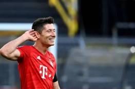 روبرت ليفاندوفسكي مهاجم بايرن ميونيخ يفوز بجائزة أفضل لاعب كرة قدم لعام 2020