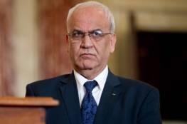 عريقات : لن نقلص ميزانية غزة وانفقنا ٩٦ مليون دولار الشهرين الماضيين