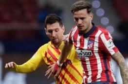 برشلونة يتعثر أمام اتلتيكو مدريد في الدوري الاسباني