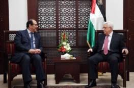 الرئيس عباس يلتقي رئيس جهاز المخابرات العامة المصرية.. اليك تفاصيله