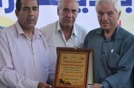 منتدى رواد يزور شباب رفح مباركاً بتتويجه بلقب كأس فلسطين