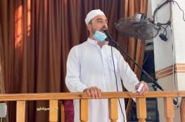 شاهد: أول صلاة جمعة في بعض مساجد قطاع غزة بعد إغلاقها بسبب كورونا