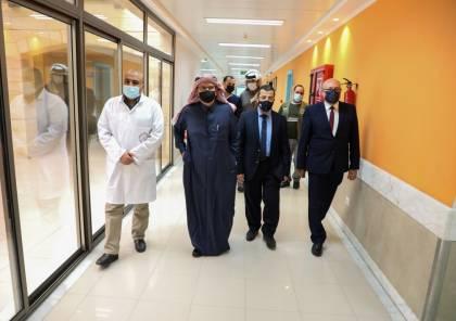 شاهد: السفير العمادي يتفقّد مشفى الشيخ حمد للتأهيل والأطراف الصناعية