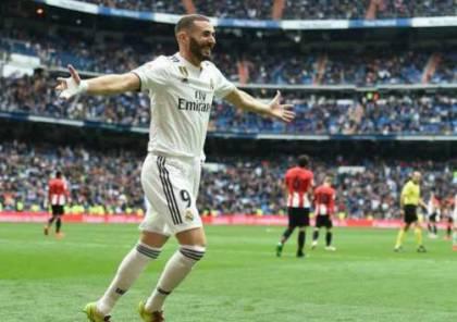 فيديو.. بنزيما يبدع ويقود ريال مدريد للفوز ضد أتلتيك بيلباو